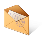 Letter in envelope