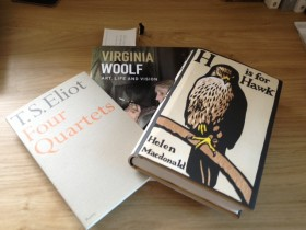 September books in the briefcase